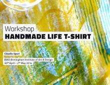 "WORKSHOP ""HANDMADE LIFE T-SHIRT"""