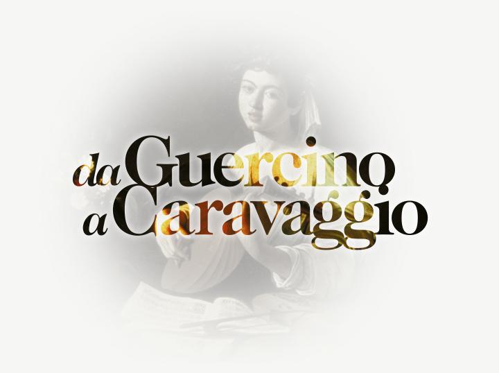 GUERCINO+CARAVAGGIO_Logo